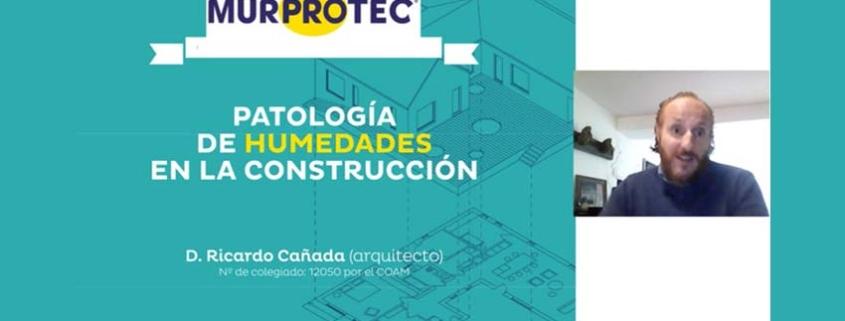 Murprotec sigue formando online a peritos en humedades estructurales