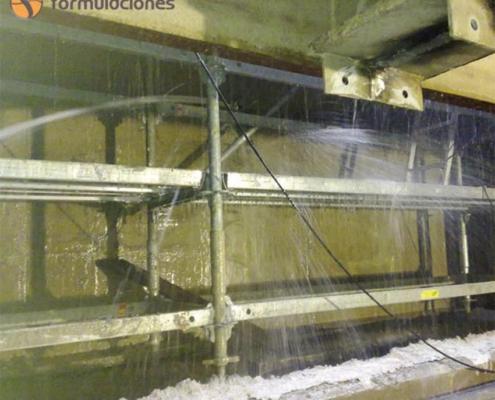 La solución para la consolidación de terrenos en trabajos de tunelación