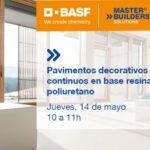 Webinar BASF sobre Pavimentos Decorativos