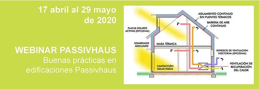 Webinars sobre buenas prácticas para construir Passivhaus