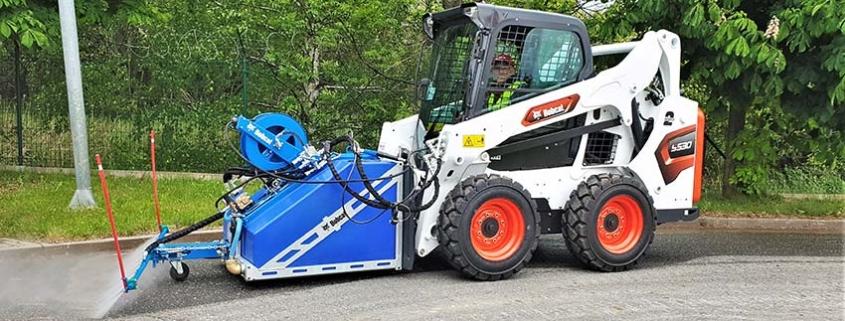 Nuevo implemento de Limpieza a Presión para cargadoras Bobcat