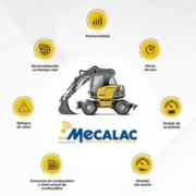 Mecalac lanza su solución telemática MyMecalac Connected Services