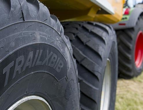 MICHELIN TRAILXBIB, el neumático agrícola para remolques y aperos