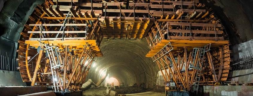 El túnel más largo de Polonia con el carro de encofrado MK de ULMA
