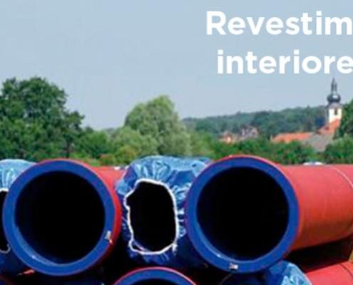 Revestimientos internos de las tuberías de fundición dúctil PAM