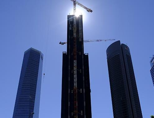 Aislamiento URSA en la Torre Caleido de Madrid