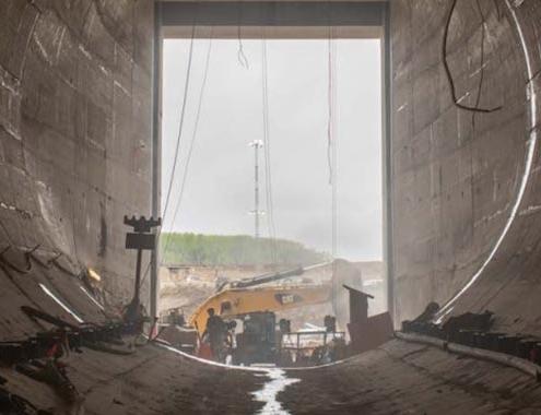 ACCIONA y sus socios finalizan la construcción de los túneles de desvío del río para el proyecto Site C (Canadá)
