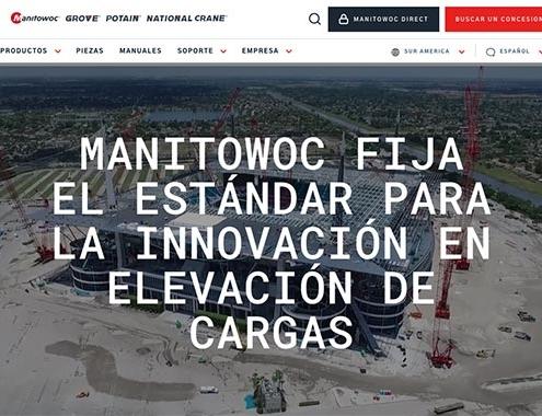 Manitowoc lanza nuevo sitio web
