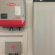 Sistema FV con Fronius Symo Hybrid y batería LG