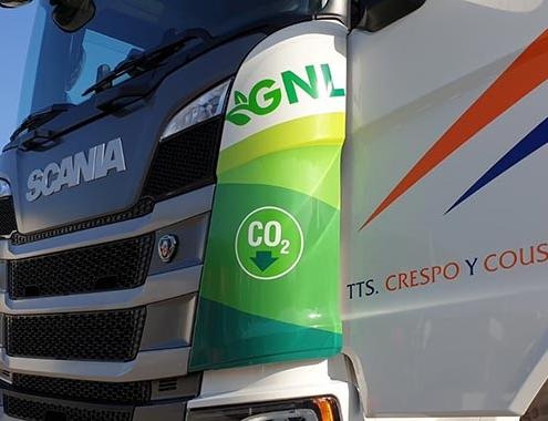 Transportes Crespo y Cousido apuesta por el gas de la mano de Scania