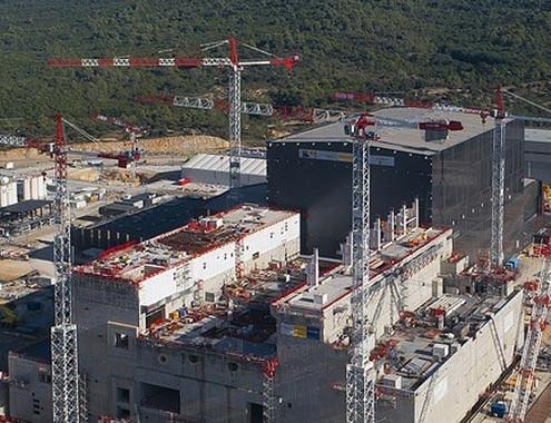 Las grúas torre Potain en el proyecto ITER