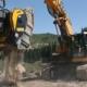 Cuchara Trituradora BF120.4 en una represa en los Alpes austriacos