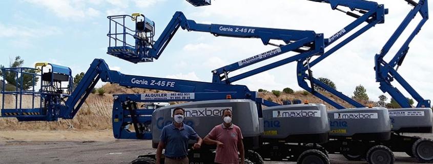 MAXBER recibe la entrega de cuatro plataformas híbridas Genie ® Z®-FE