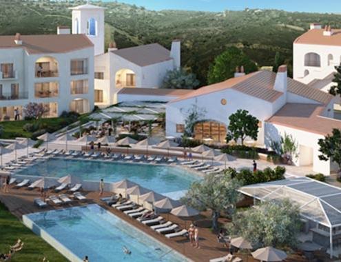 Sistemas REHAU en el espectacular Ombria Resort en el Algarve, Portugal