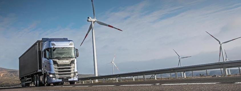 La producción mundial de Scania concluye la transición hacia fuentes de energía renovables