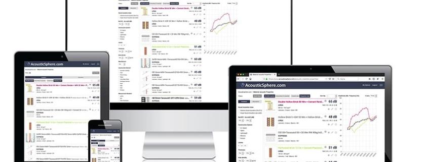 URSA en el primer buscador virtual de ensayos acústicos de materiales
