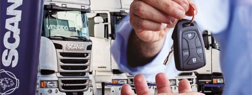 Días del camión de ocasión Scania, desde 499€* al mes