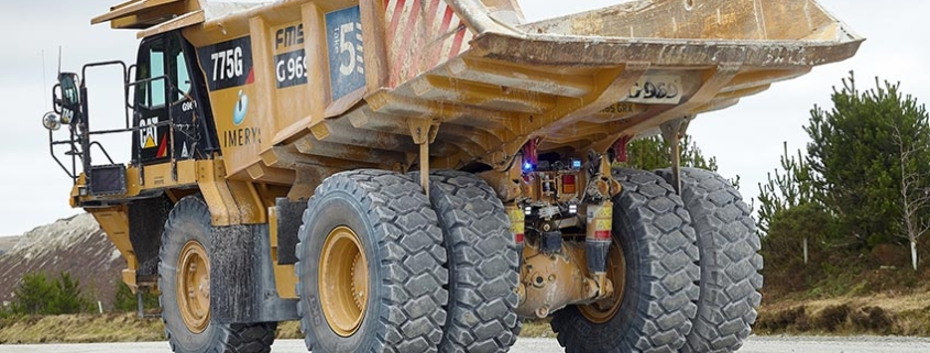 La elección del neumático perfecto para el trabajo en canteras
