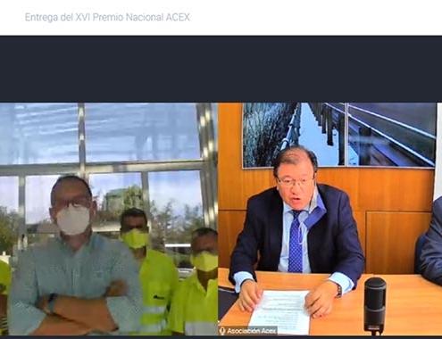 Premio Nacional ACEX 2020 a los operarios de conservación de carreteras