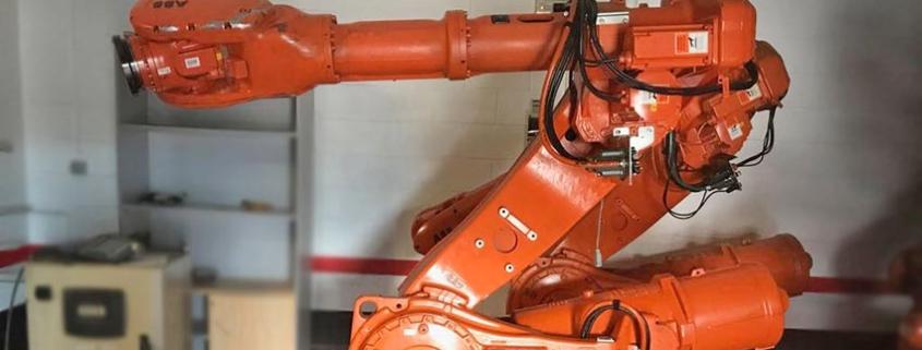 Robots Gallery, robots industriales de segunda mano en la construcción