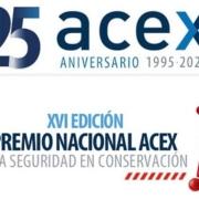Clausura XVI Premios Nacionales ACEX a la seguridad en conservación