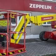 Tecnologías sostenibles Genie para la flota de Zeppelin Rental
