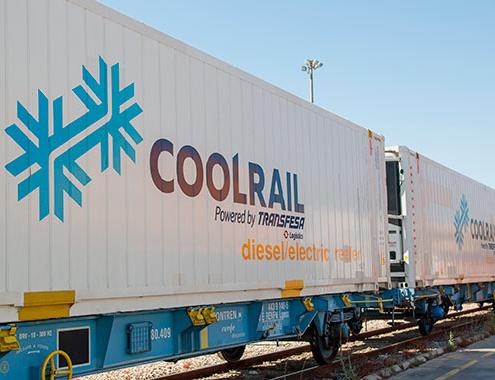 Alianza de Transfesa Logistics y EPS para promover las rutas CoolRail