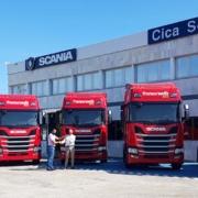 Transursedis se suma a la apuesta por el gas con la incorporación de 5 Scania R410 de GNL