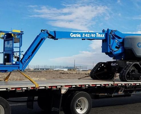 Genie lanza la nueva plataforma articulada Z®-62/40 TRAX ™ en Europa
