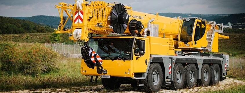 Liebherr presenta la LTM 1150-5.3, una auténtica joya