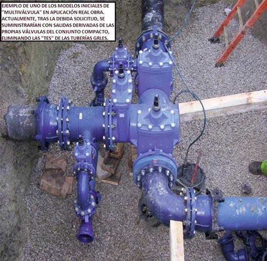 Aplicación de válvulas agrupadas en redes de agua - Fig 12