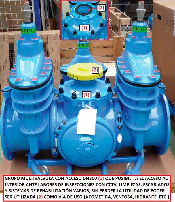 Aplicación de válvulas agrupadas en redes de agua - Fig 22