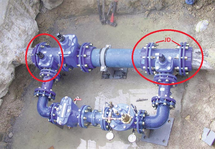Aplicación de válvulas agrupadas en redes de agua - Fig 8