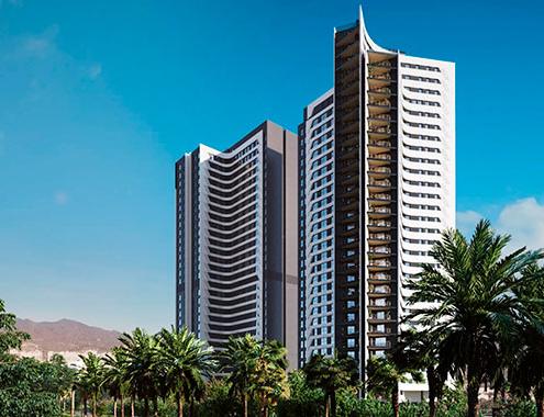 AQ Urban Sky, el mayor proyecto de edificación del año en España