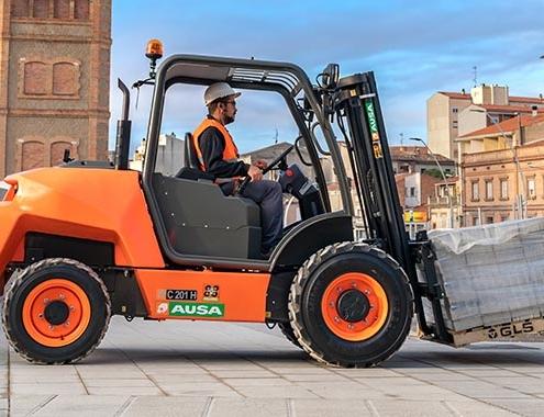 AUSA lanza su nueva carretilla urbana C201H