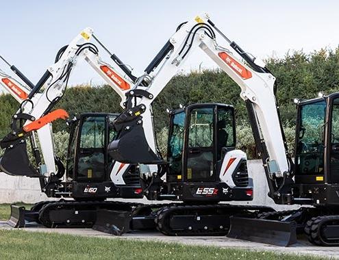 Nuevas miniexcavadoras de 5-6 toneladas de la serie R2 de Bobcat