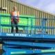 Primeras plataformas de tijera Genie® GS-5390 del Reino Unido