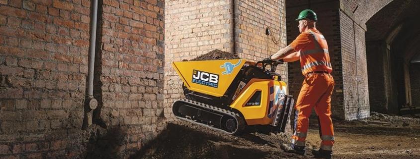 JCB amplia la línea E-Tech con el modelo dumpster eléctrico