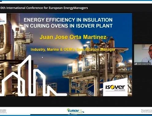 El proyecto de gestión energética sobre la planta de Saint-Gobain ISOVER galardonado en los EUREM Awards 2020