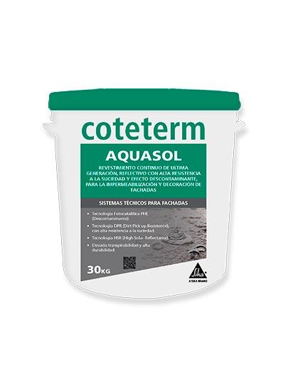 Revestimiento continuo Coteterm Aquasol by Sika 2
