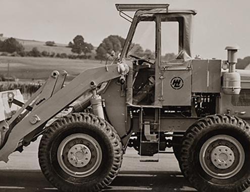 Liebherr restaura una pala cargadora de hace 60 años: la LSL 1500
