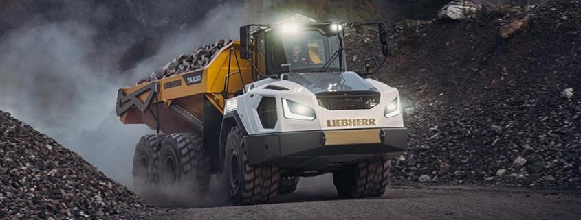 Liebherr presenta la nueva generación de dúmperes articulados TA 230 Litronic