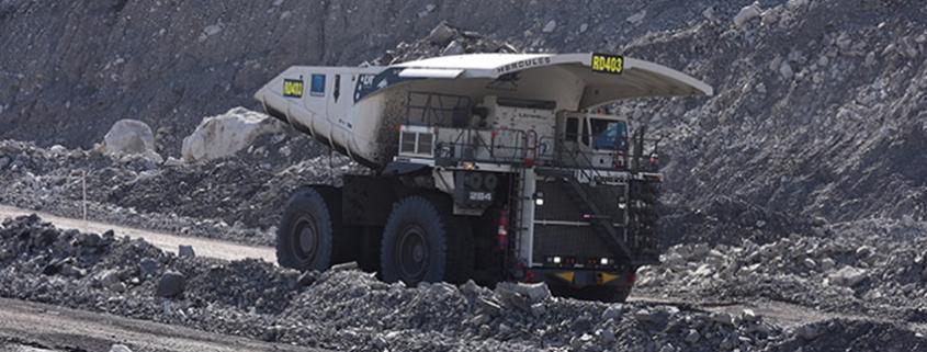 Flota Liebherr de cinco camiones mineros T 264 se van a Australia