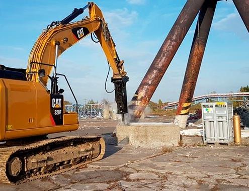 Nuevos martillos hidráulicos Cat® de la Serie GCS, distribuidos por Finanzauto.