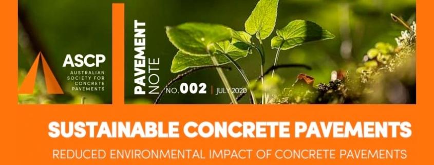 Pavimentos de hormigón sostenibles impacto ambiental reducido de los pavimentos de hormigón