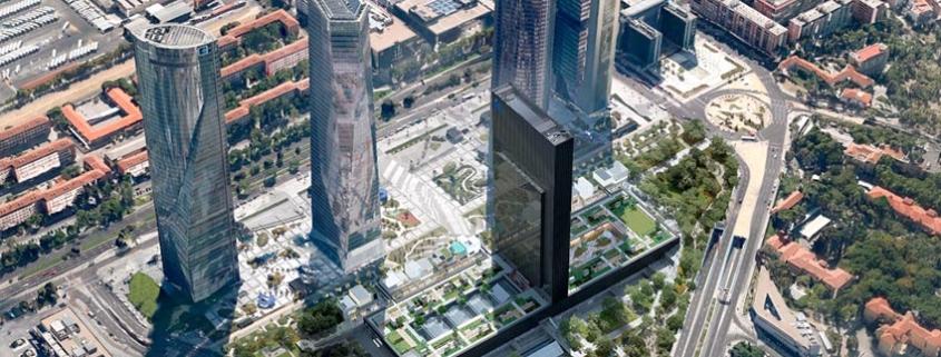 Caleido transforma la zona financiera de Madrid