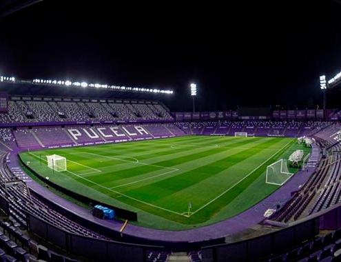 Nueva experiencia a través de la luz en estadio José Zorrilla de Valladolid