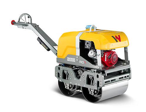 Rodillo vibratorio RD7 de WackerNeuson, elevado confort en la operación