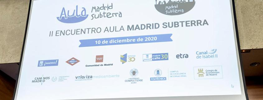 II Encuentro del Aula Madrid Subterra