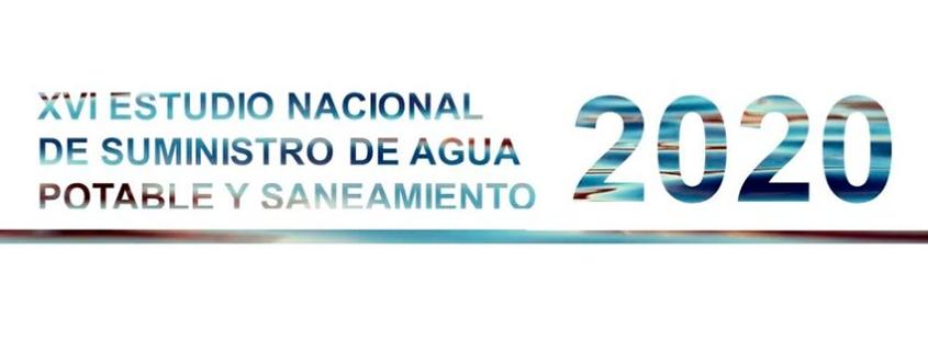 XVI Estudio Nacional de Suministro de Agua Potable y Saneamiento 2020